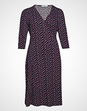 Violeta by Mango Print Wrap Dress