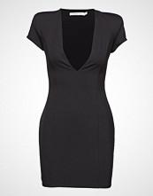 Ivyrevel Capped Sleeve Plunge Mini Dress