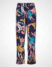 Minus Caitlyn Pants Vide Bukser Multi/mønstret MINUS