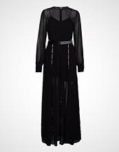 Karl Lagerfeld Maxi Shirt Dress W/Logo Tape