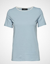 Weekend Max Mara Multic T-shirts & Tops Short-sleeved Blå WEEKEND MAX MARA