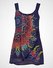 Desigual Blus Adri T-shirts & Tops Sleeveless Multi/mønstret DESIGUAL