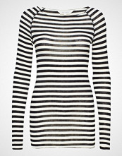Gai+Lisva Amalie Medium Stripe T-shirts & Tops Long-sleeved Blå GAI+LISVA