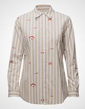 Scotch & Soda Cotton Shirt Langermet Skjorte Creme SCOTCH & SODA