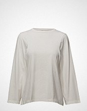 Totême Lesina T-shirts & Tops Long-sleeved Hvit TOTÊME