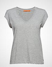 Coster Copenhagen Basic Tee W. V-Neck T-shirts & Tops Short-sleeved Grå COSTER COPENHAGEN