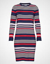 Saint Tropez Striped Dress W. Metallic