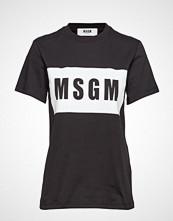 MSGM T-Shirt T-shirts & Tops Short-sleeved Svart MSGM