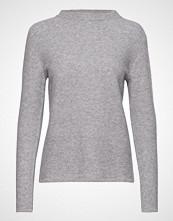 Davida Cashmere Semipolo Slit Sweater