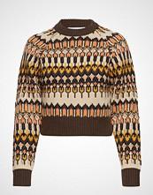 Cathrine Hammel Cropped Bonfire Sweater