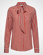 Saint Tropez Striped Blouse W Tie