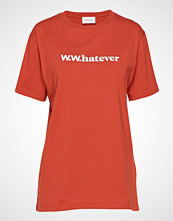 Wood Wood Sami T-Shirt T-shirts & Tops Short-sleeved Oransje WOOD WOOD