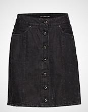 Scotch & Soda Black Denim Pencil Skirt