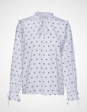Only Onljune L/S Frill Shirt Wvn