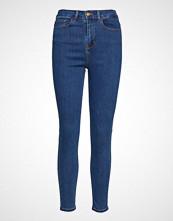 Vila Vicommit Felicia Hw Slim 7/8 V. Mbd-Noos Skinny Jeans Blå VILA