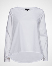 Marc O'Polo Shirts/Blouses Long Sleeve Bluse Langermet Hvit MARC O'POLO