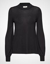 Lexington Clothing Sadie Cotton Bamboo Sweater Strikket Genser Svart LEXINGTON CLOTHING