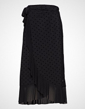 Coster Copenhagen Skirt In Mesh W. Velvet Dots
