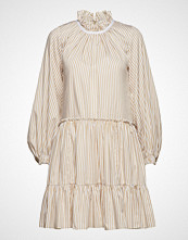 3.1 Phillip Lim Ls Striped Aline Mini Dress Kort Kjole Creme 3.1 PHILLIP LIM