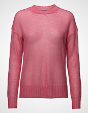 French Connection Miri Knits Drop Shldr Jumper Strikket Genser Rosa FRENCH CONNECTION
