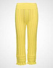 3.1 Phillip Lim Compact Pointelle Lace Pants Vide Bukser Gul 3.1 PHILLIP LIM