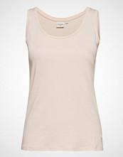 Cream Naia O-Neck Tank Top T-shirts & Tops Sleeveless Rosa CREAM