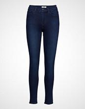 Wrangler High Rise Skinny Skinny Jeans Blå WRANGLER