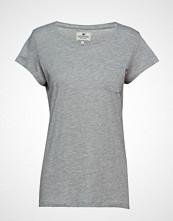 Lexington Clothing Ashley Jersey Tee T-shirts & Tops Short-sleeved Grå LEXINGTON CLOTHING