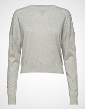 Filippa K Soft Sport Light Knit Sweatshirt Strikket Genser Grå FILIPPA K SOFT SPORT