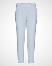 Custommade Muno Pipping Bukser Med Rette Ben Blå CUSTOMMADE
