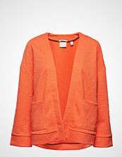 Scotch & Soda Jacquard Sweat Blazer Strikkegenser Cardigan Oransje SCOTCH & SODA