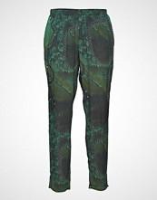 Diana Orving Trousers Bukser Med Rette Ben Grønn DIANA ORVING