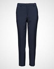 Designers Remix Arabian Suit Bukser Med Rette Ben Blå DESIGNERS REMIX