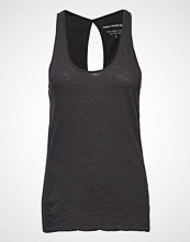 Moshi Moshi Mind New Crazy Tank Top T-shirts & Tops Sleeveless Svart MOSHI MOSHI MIND