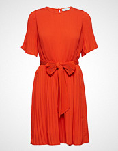 Cathrine Hammel Miami Dress W/Short Sleeves Kort Kjole Oransje CATHRINE HAMMEL