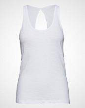 Moshi Moshi Mind New Crazy Tank Top T-shirts & Tops Sleeveless Hvit MOSHI MOSHI MIND