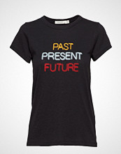 Rag & Bone Past Present Future Tee T-shirts & Tops Short-sleeved Svart RAG & B