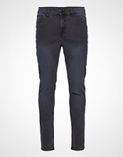 Cheap Monday Sonic Blue Dose Slim Jeans Blå CHEAP MONDAY