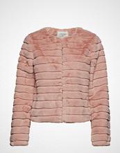 Cream Pudel Fur Jacket