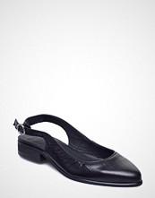 Royal Republiq Prime Croco Slingback Sandal Ballerinasko Ballerinaer Svart ROYAL REPUBLIQ