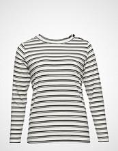 Violeta by Mango Striped Rib T-Shirt