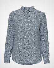 Modström Magnolia Print Shirt Bluse Langermet Blå MODSTRÖM