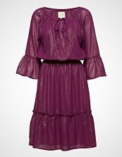 Lollys Laundry City Dress Knelang Kjole Lilla LOLLYS LAUNDRY