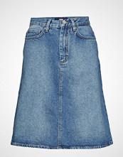 Wood Wood Ynes Skirt Kort Skjørt Blå WOOD WOOD