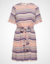 Cathrine Hammel Miami Dress W/Short Sleeves Kort Kjole Rosa Cathrine Hammel
