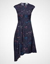 Wood Wood Wanda Dress Knelang Kjole Blå WOOD WOOD