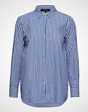 Soft Rebels Ofelia Shirt Langermet Skjorte Blå SOFT REBELS