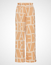 Vero Moda Vmginger Straight Pants Vma Vide Bukser Gul VERO MODA