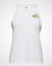 Kari Traa Vilde Top T-shirts & Tops Sleeveless Hvit KARI TRAA