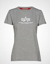 Alpha Industries New Basic T Wmn T-shirts & Tops Short-sleeved Grå ALPHA INDUSTRIES